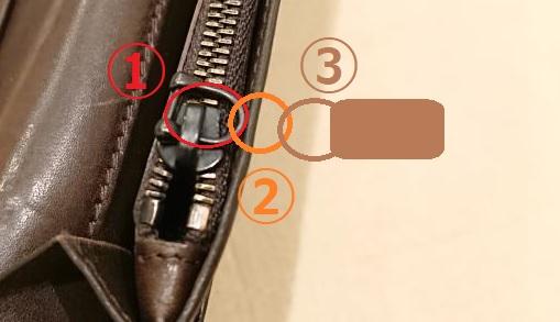 サイフ 引手 修繕(リペア)方法