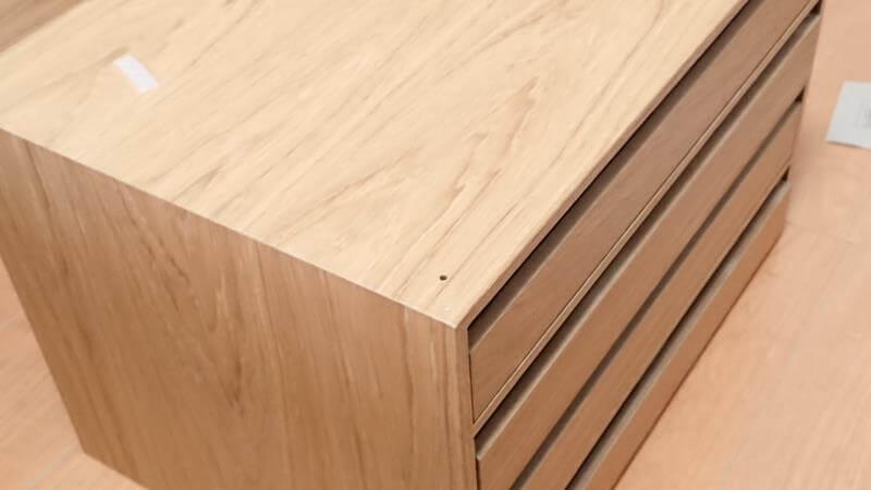 無印良品 木製収納ケース単体での使用も可能