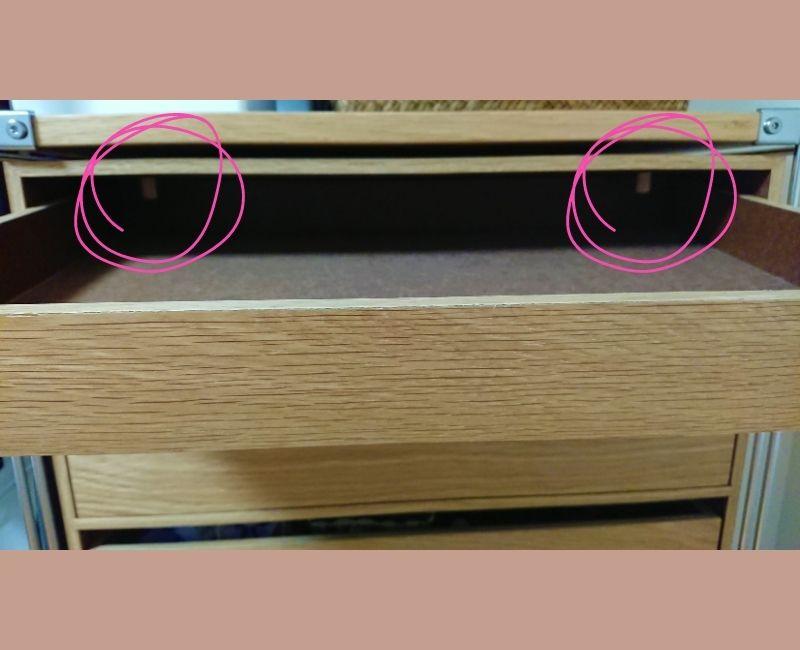 無印良品 木製収納ケース デメリット 突起が邪魔