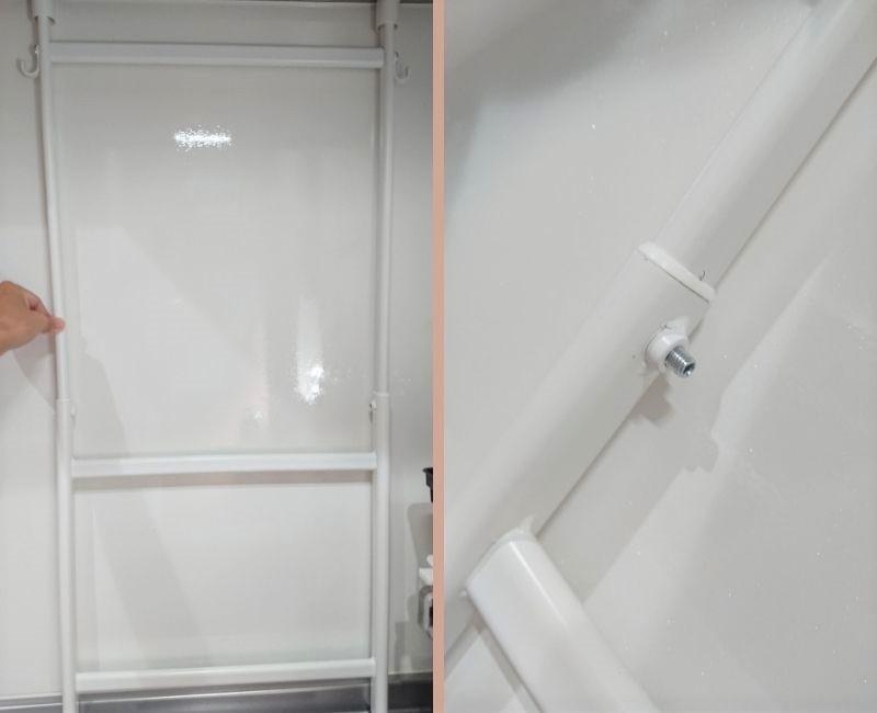 IKEA購入品 キッチンラックの取り付け方 手順③