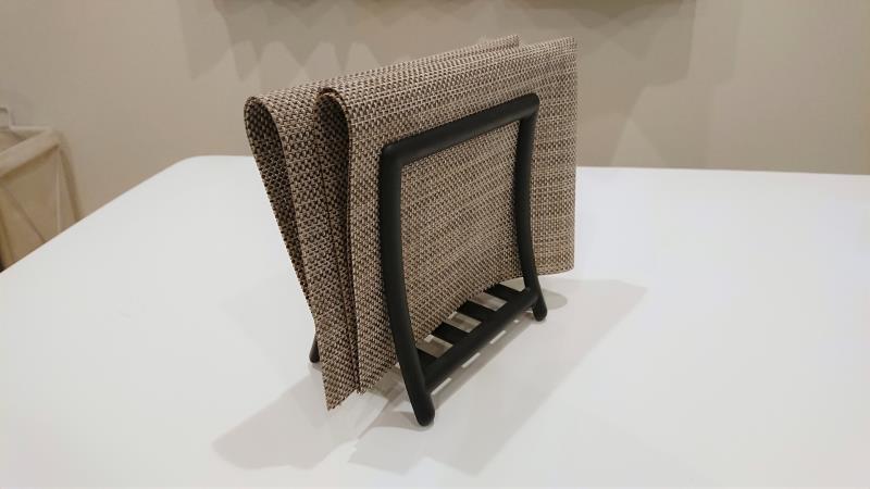 【IKEA】グレヤ ナプキンホルダーの活用術 ランチョンマットの収納