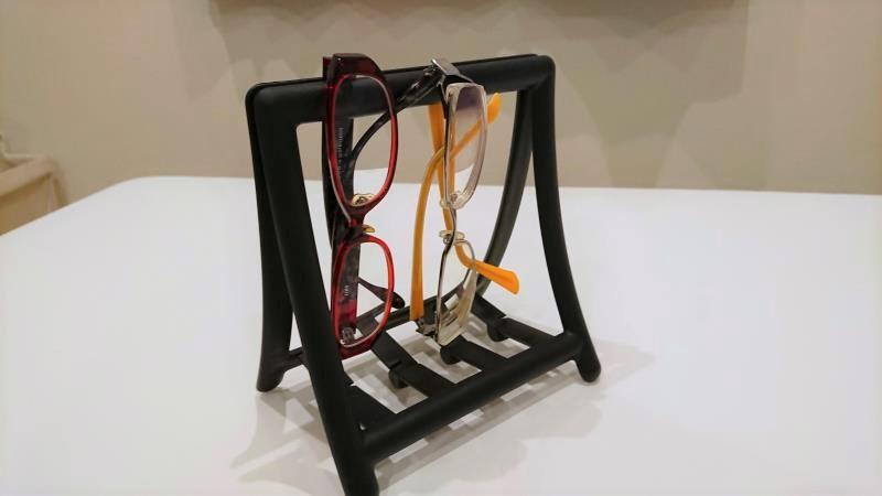 【IKEA】グレヤ ナプキンホルダーの活用方法 メガネかけ