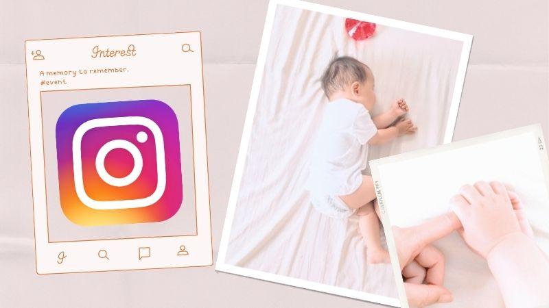 新生児の写真を使ったアイデア_自宅用はSNSやフォトフレームで飾ろう